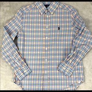 NWT Ralph Lauren Boys' Button Down Shirt M (10-12)